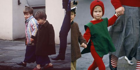 Prince William and Harry old pictures