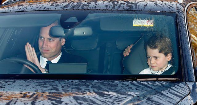 royal family news le foto del principe william e di george a caccia