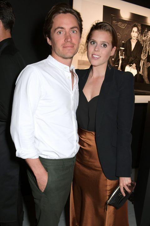 La principessa Beatrice di York e il fidanzato Edoardo Mapelli Mozzi