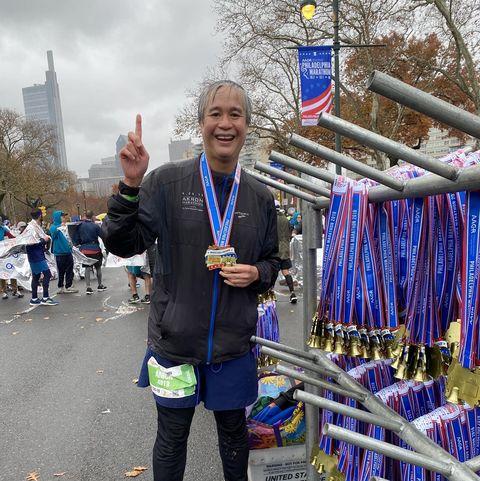 tributes paid to marathon runner