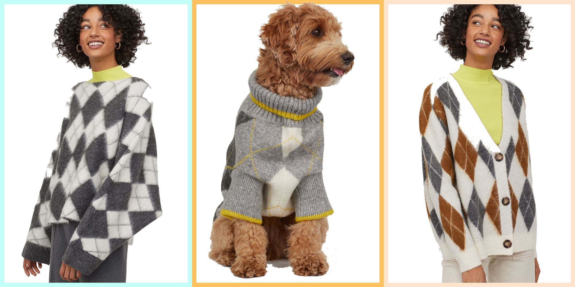 H&M has collaborated with Pringle of Scotland on a gorgeous new knitwear collection