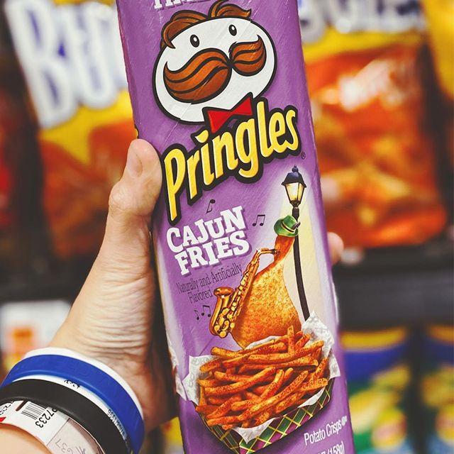 pringles cajun fries chips