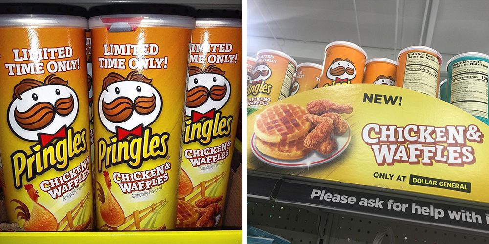 Pringles Has New Chicken & Waffles Chips That Combine Sweet And Savory Flavors