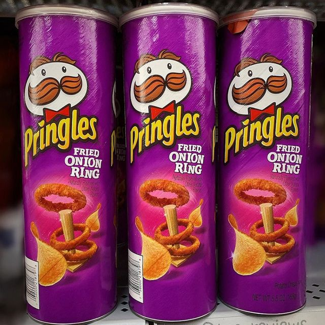 pringles fried onion ring chips flavor