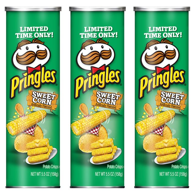 pringles sweet corn chips