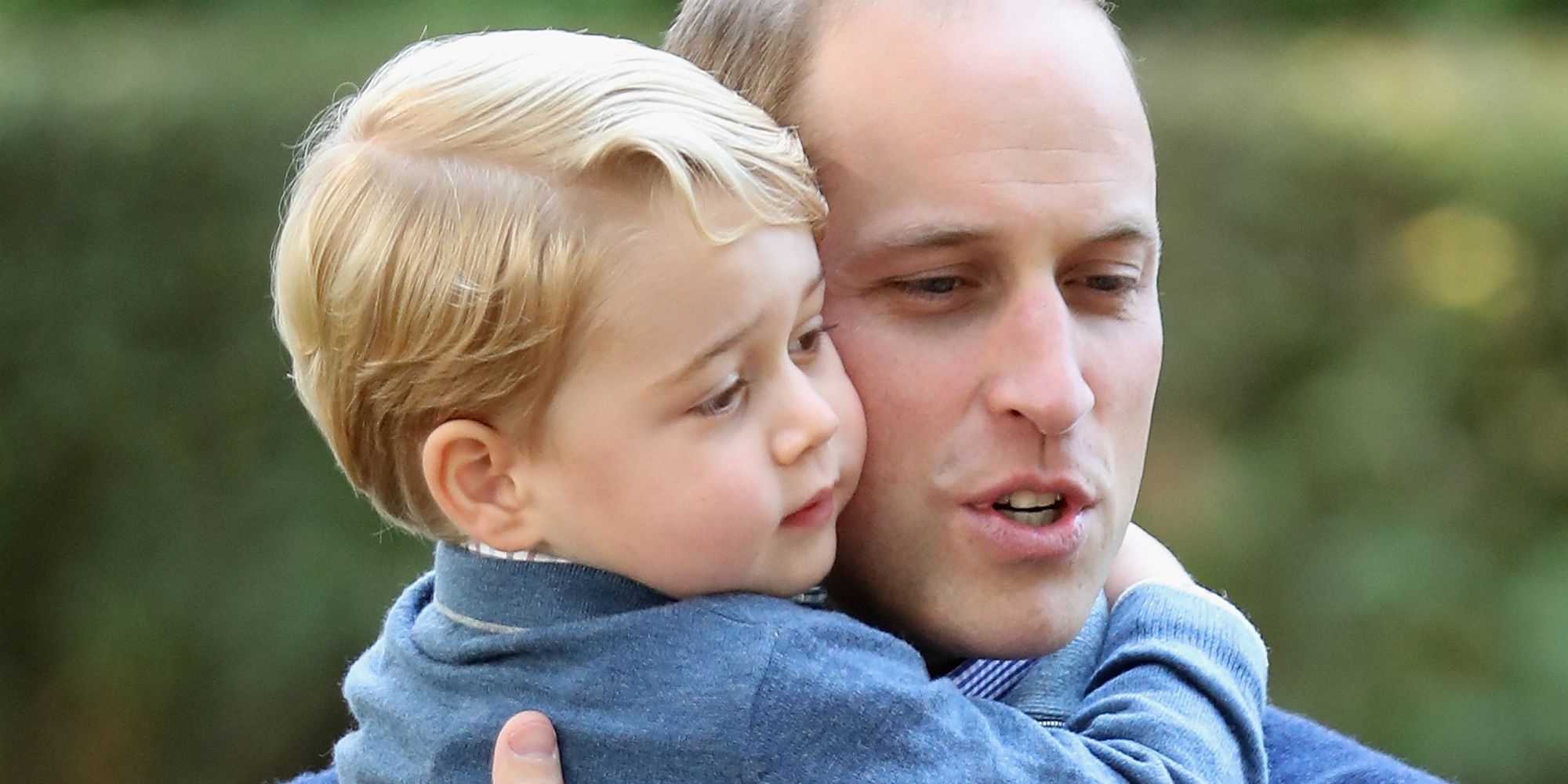 Prins George en Prins William
