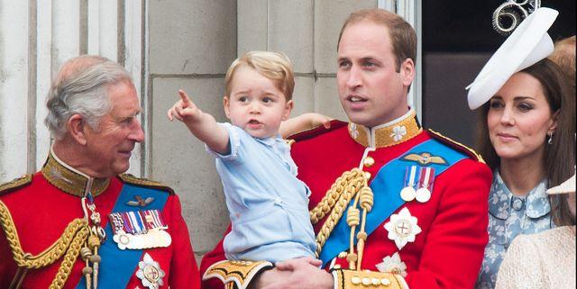 prins george verjaardag trooping the colors
