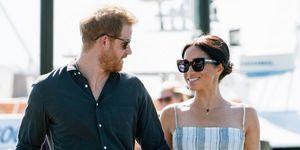 Prins Harry en Meghan Markle