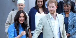 Prins Harry en Meghan Markle in Zuid-Afrika