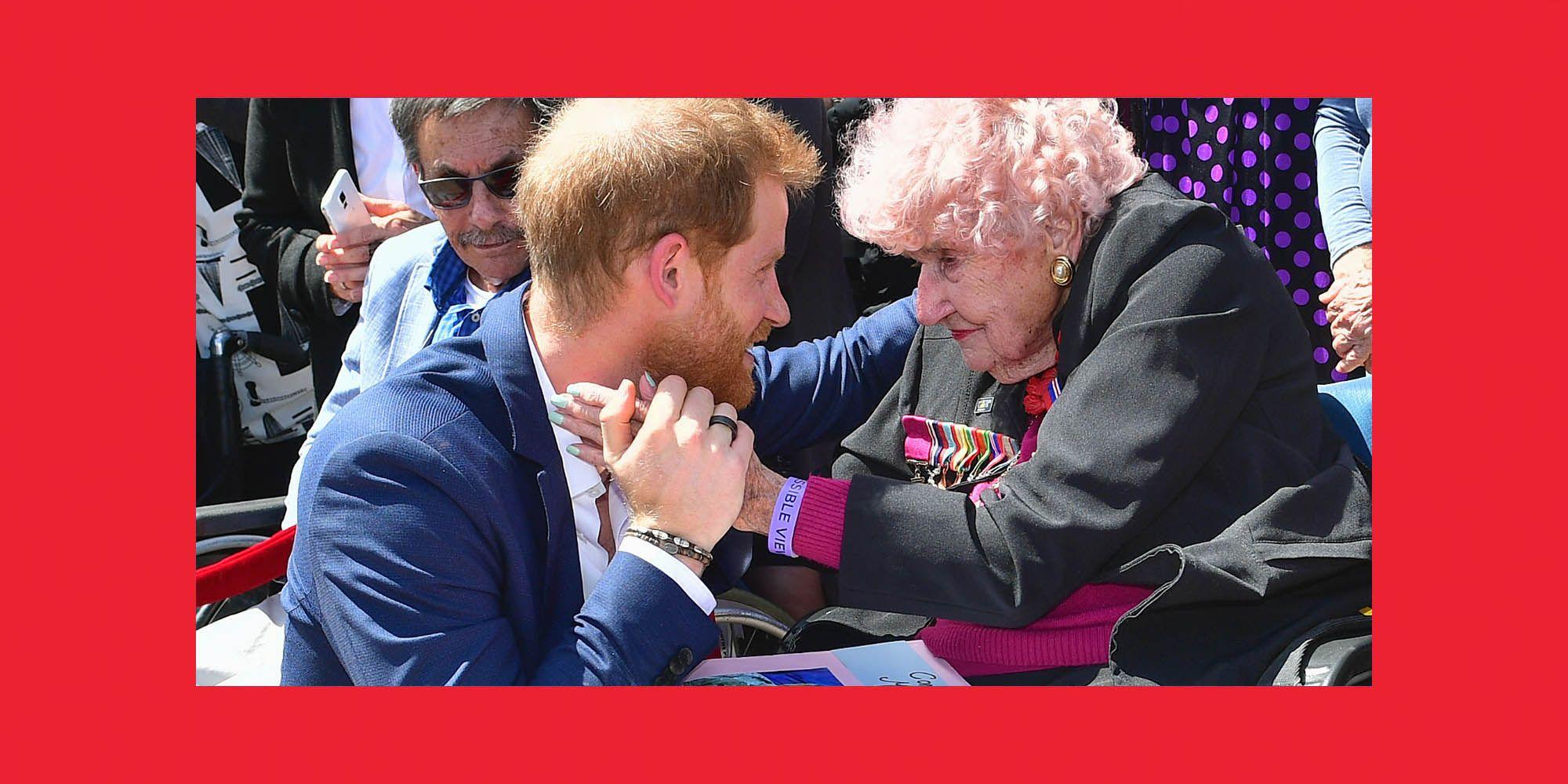 Prins Harry, weduwe Dunne