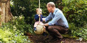 Prins William en Prins Louis