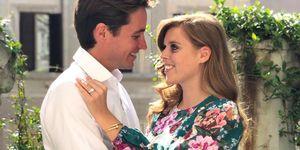 Prinses Beatrice en Edoardo Mapelli Mozzi