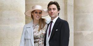 Prinses Beatrice en haar verloofde Edoardo Mapelli Mozzi stappen binnenkort in het huwelijksbootje.