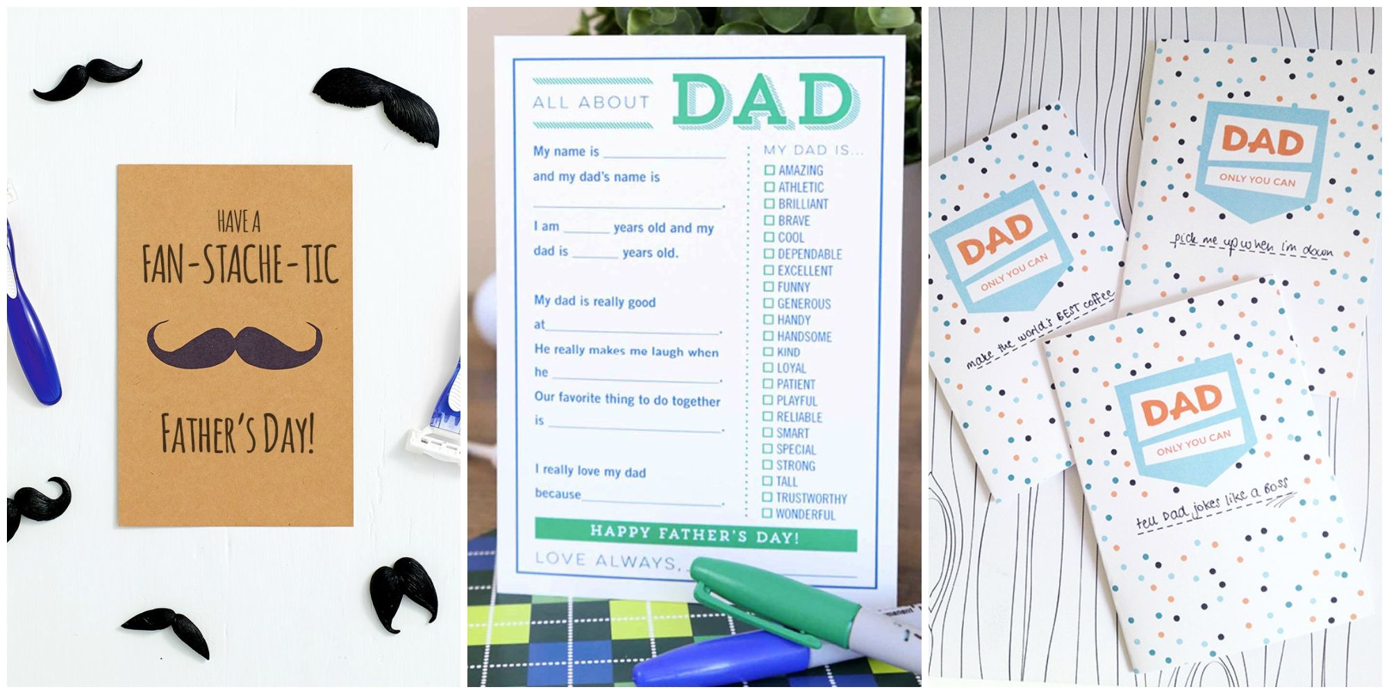 photo about Deal a Meal Cards Printable called 25 Printable Fathers Working day Playing cards - Totally free Printable Playing cards For