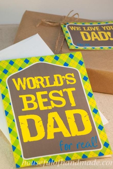 printable fathers day cards worlds best dad