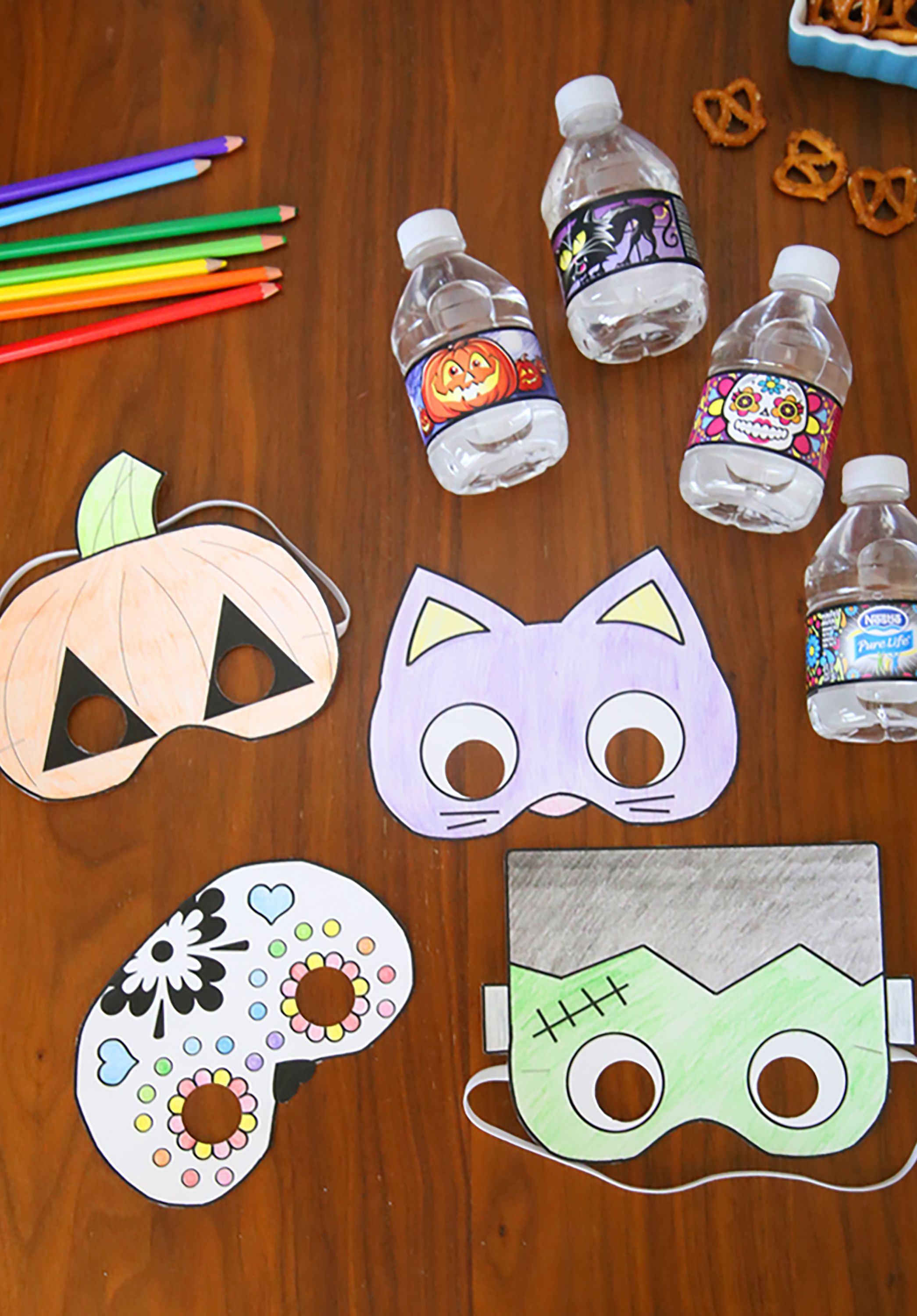 photo relating to Printable Halloween Masks identified as 18 Do-it-yourself Halloween Mask Crafts - How toward Produce Halloween Masks