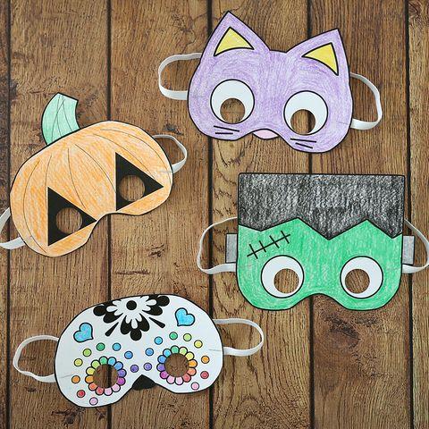 printable diy halloween mask