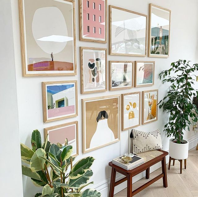 prints posters gallery wall