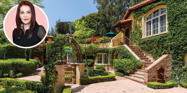 priscilla presley italian villa home