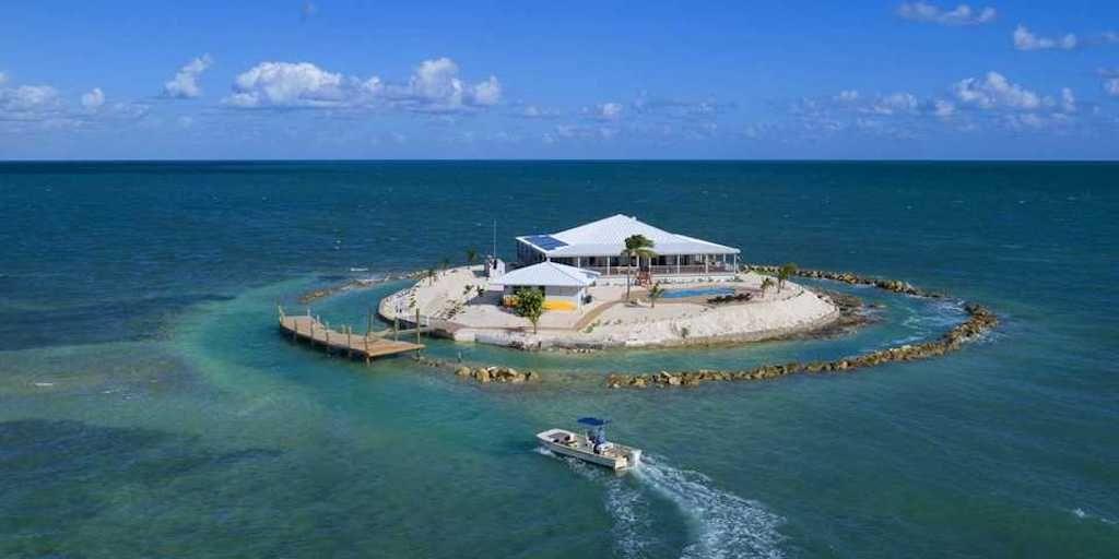 Onbewoond eiland in Florida te koop voor $15 miljoen - quotenet.nl