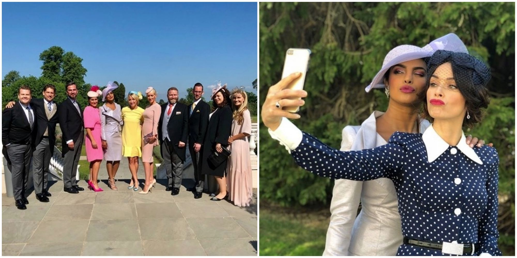 a4d1c2c1cd5ff Priyanka Chopra Shares BTS Photos Of  Bridal Crew Squad  At Royal Wedding