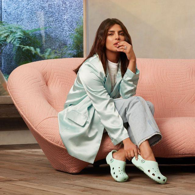 Priyanka Chopra on Couple Dressing With Nick Jonas, UNICEF, and Wearing  Crocs