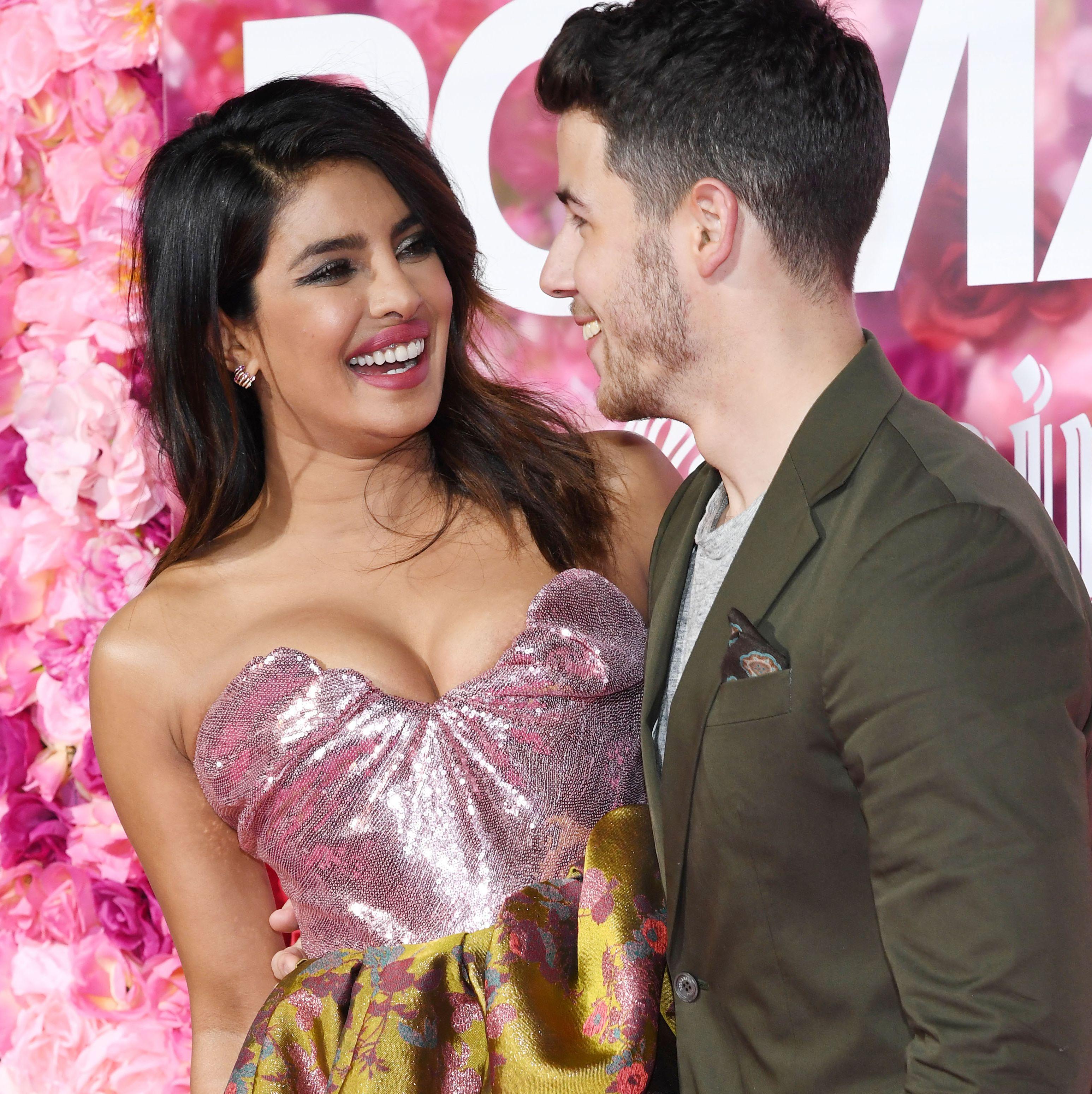 Priyanka Chopra Wore the Prettiest Vivienne Westwood Ballgown to Her and Nick Jonas's First Premiere