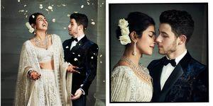 Priyanka Chopra and Nick Jonas reception