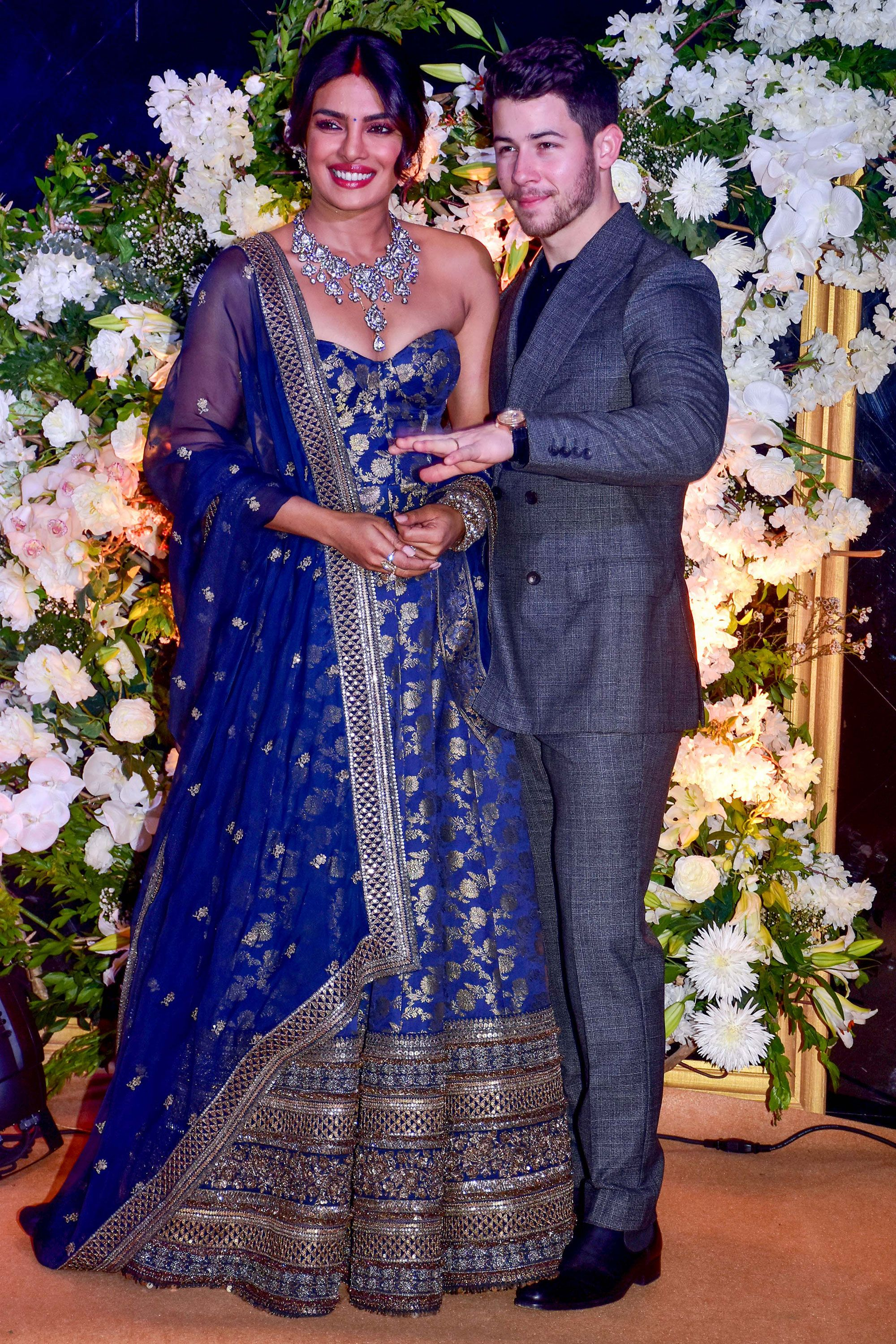 c86533c6ba Every outfit Priyanka Chopra wore during her wedding celebrations
