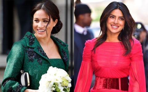 Priyanka Chopra and the Duchess of Sussex