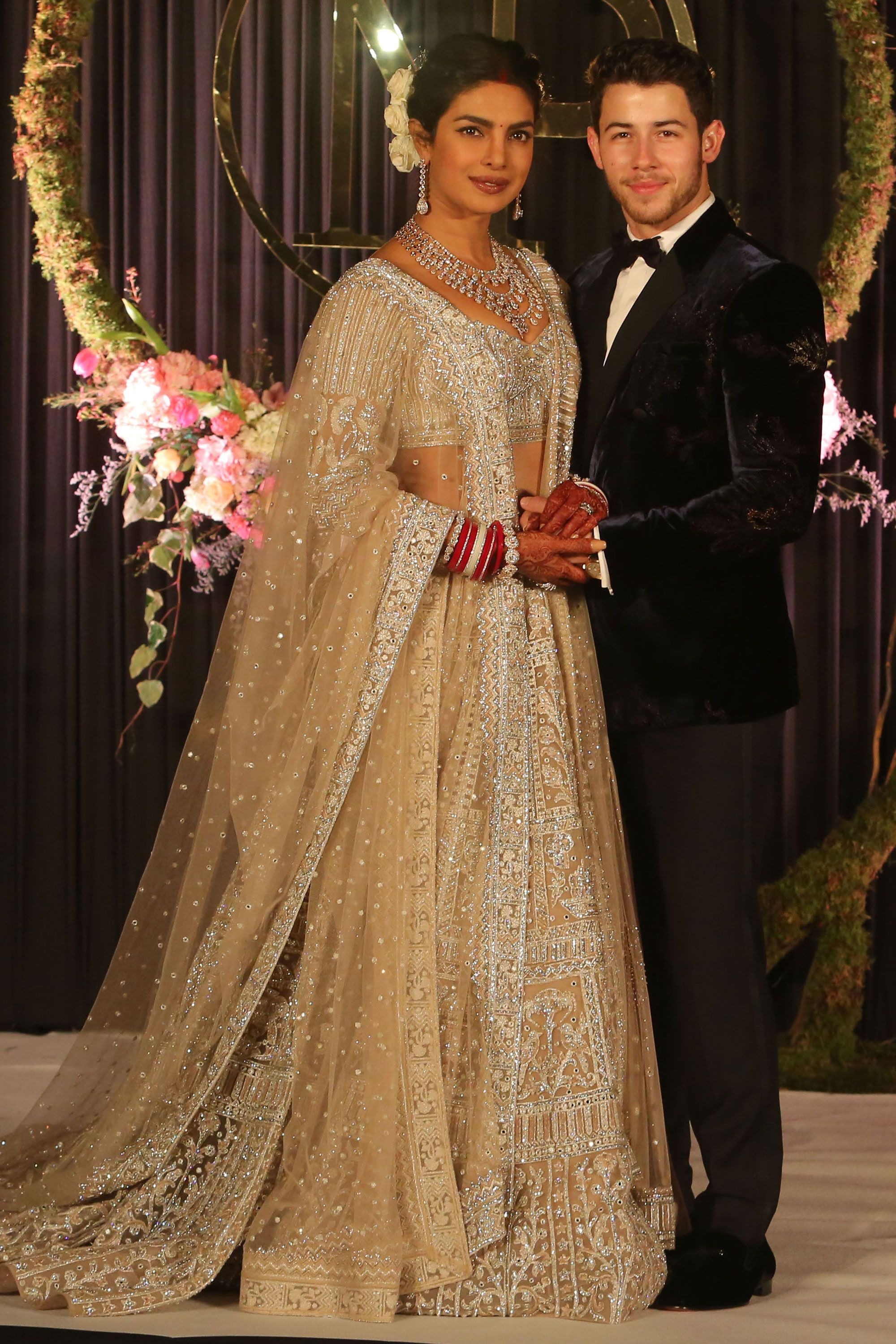 Every outfit Priyanka Chopra wore during her wedding