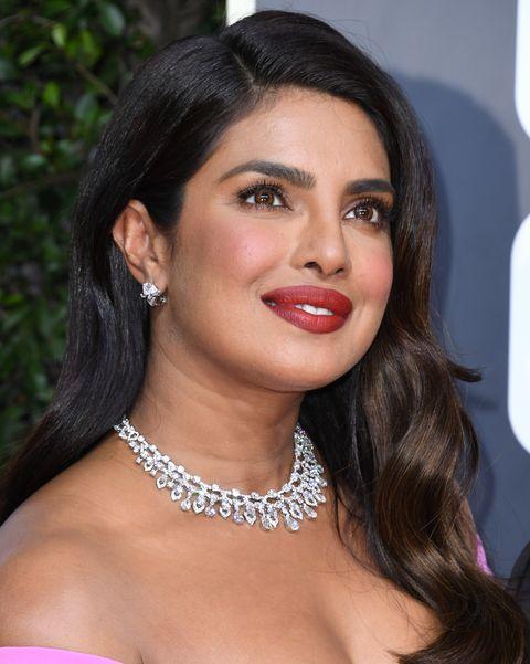 golden Globe Awards - hair and make up looks