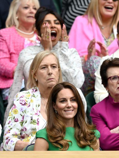 wimbledon celebrity sightings   day 12