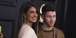 Priyanka Chopra y Nick Jonas en los Grammy 2020