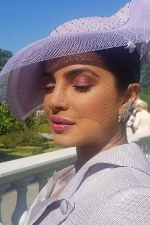 Royal wedding guests: Priyanka Chopra's beauty look