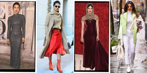 9112609a59 Priyanka Chopra's Best Looks of All Time - Priyanka Chopra Red ...
