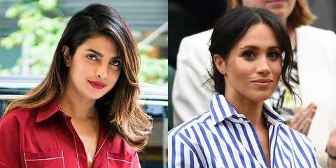 Meghan Markle Has Reportedly Been 'Confiding in' Priyanka Chopra About Her Adjustment to Royal Life