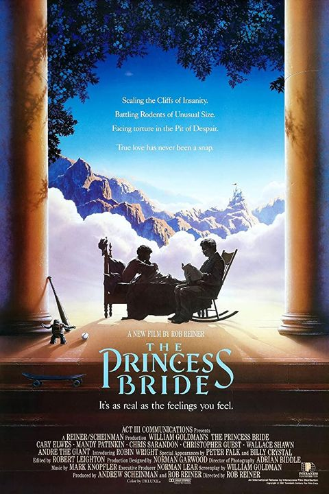 The Princess Bride Movie Poster Starring Cary Elwes