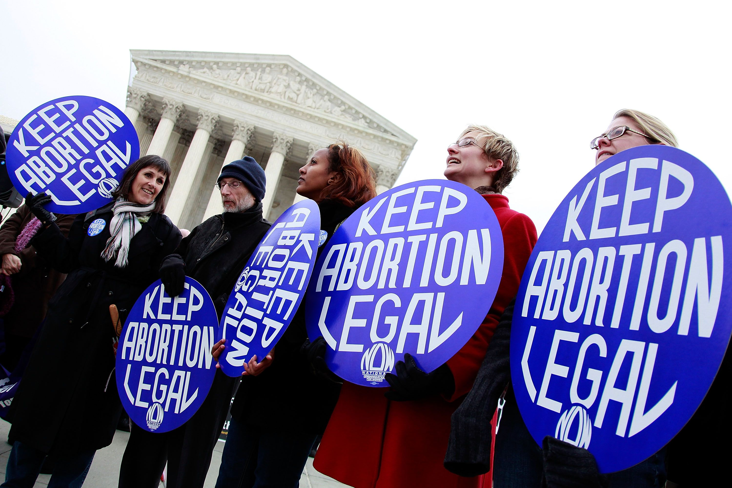 Supporters And Opponents Commemorate 37th Anniversary Of Roe v. Wade