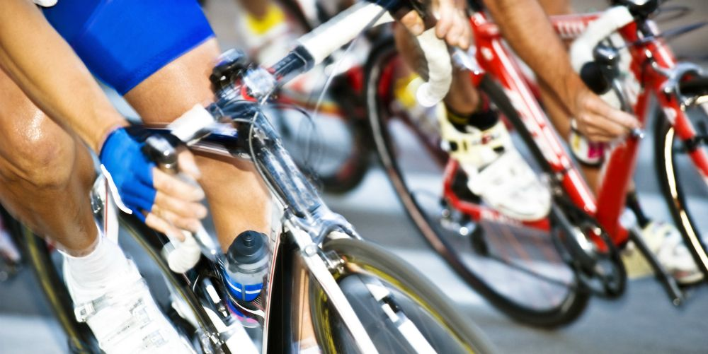 Cyclists Legs