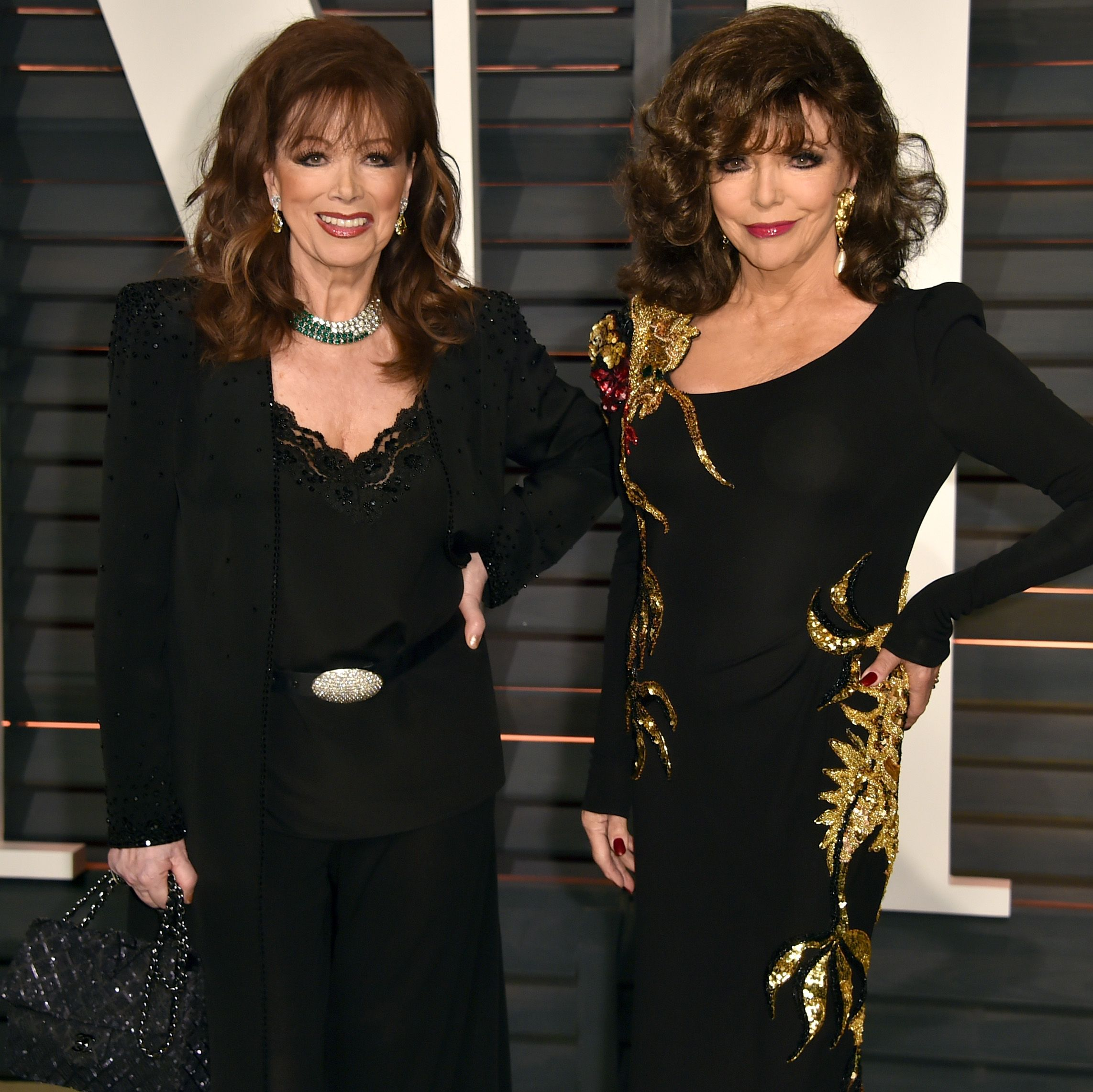 """The lives of icons Joan and Jackie Collins to be adapted into a drama series from """"The Crown"""" producers"""