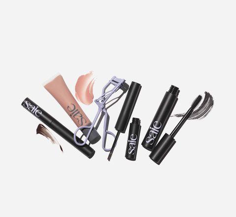 Cosmetics, Eyebrow, Eye liner, Eye, Lip gloss, Material property, Eye shadow, Mascara, Lipstick, Eyelash,