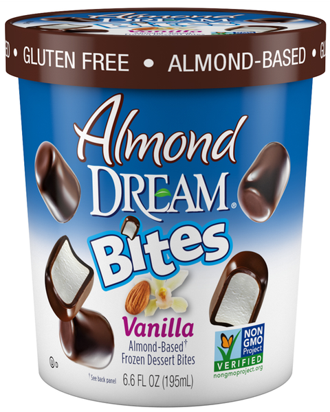 Almond Dream dairy free ice cream