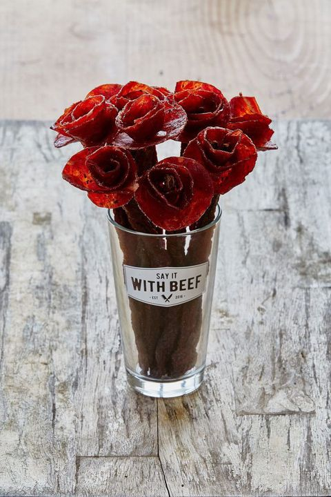 You Can Now Buy A Beef Jerky Bouquet For Your One True Love