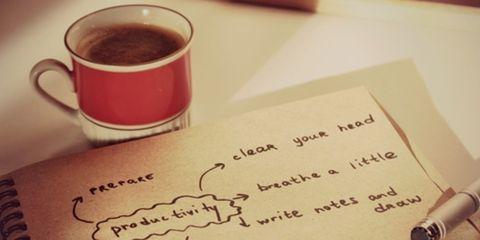 Dit is de tip om je dag productief te beginnen
