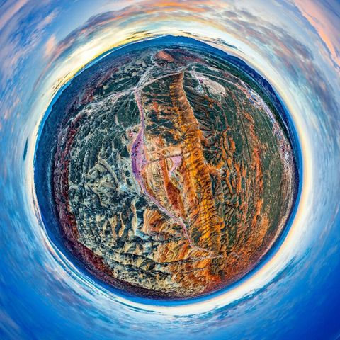 Colorfulness, Art, Space, World, Electric blue, Visual arts, Painting, Illustration, Art paint, Artwork,