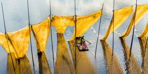 Art, Paint, Reflection, Boats and boating--Equipment and supplies, Visual arts, Wetland, Watercolor paint, Art paint, Painting, Modern art,