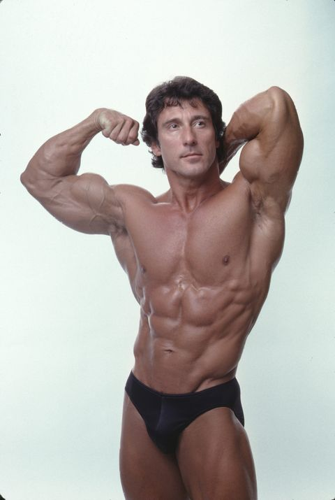 Bodybuilder Frank Zane