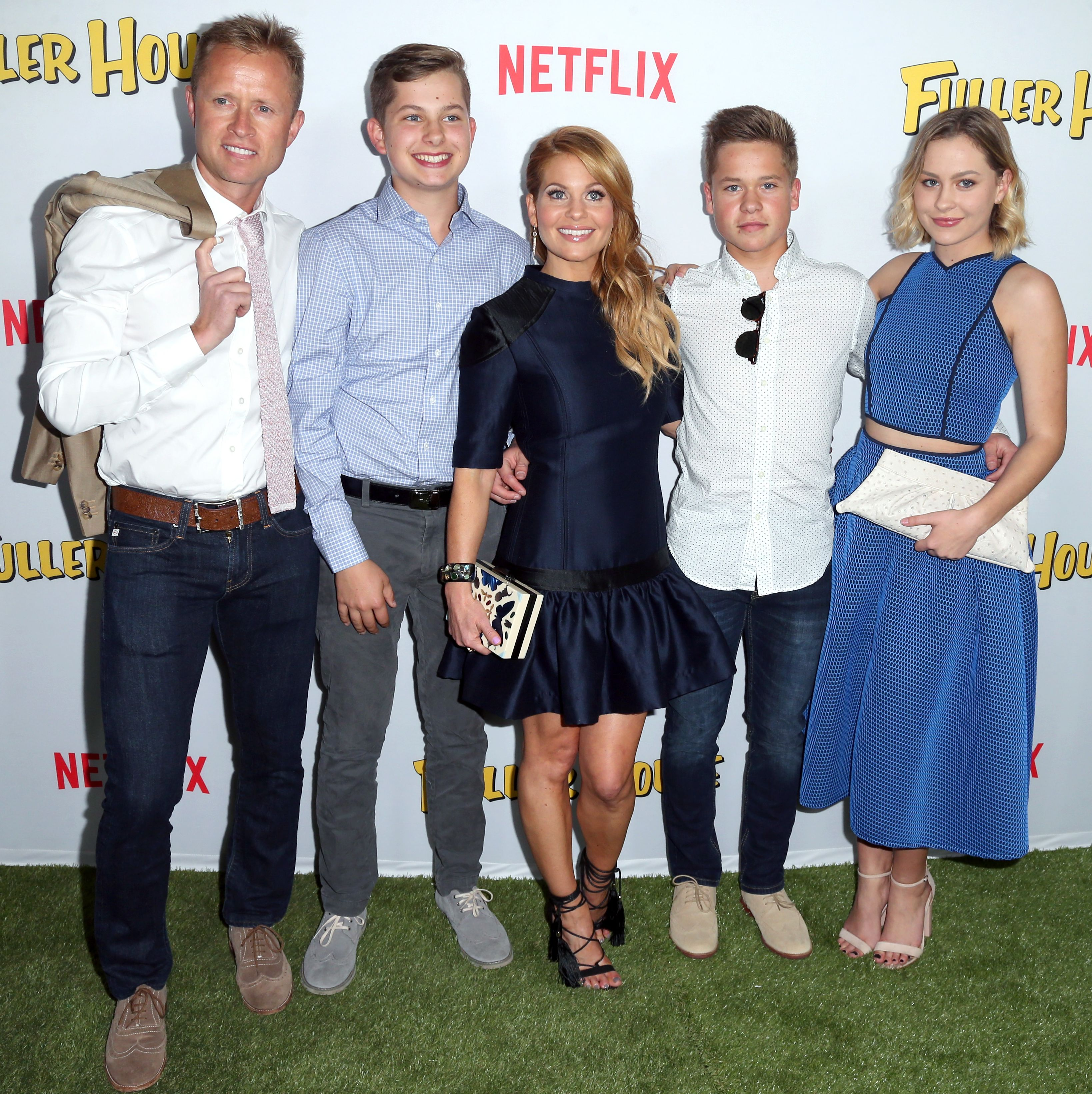 Meet 'Fuller House' Star Candace Cameron Bure's Husband and Three Kids