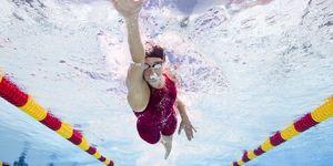 Professional swimming